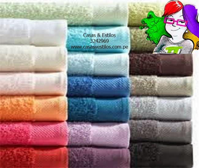 Sabanas lima venta de toallas para hoteles toallas de ba o - Toallas para bano ...