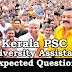 Kerala PSC : Expected Question for University Assistant Exam - 52
