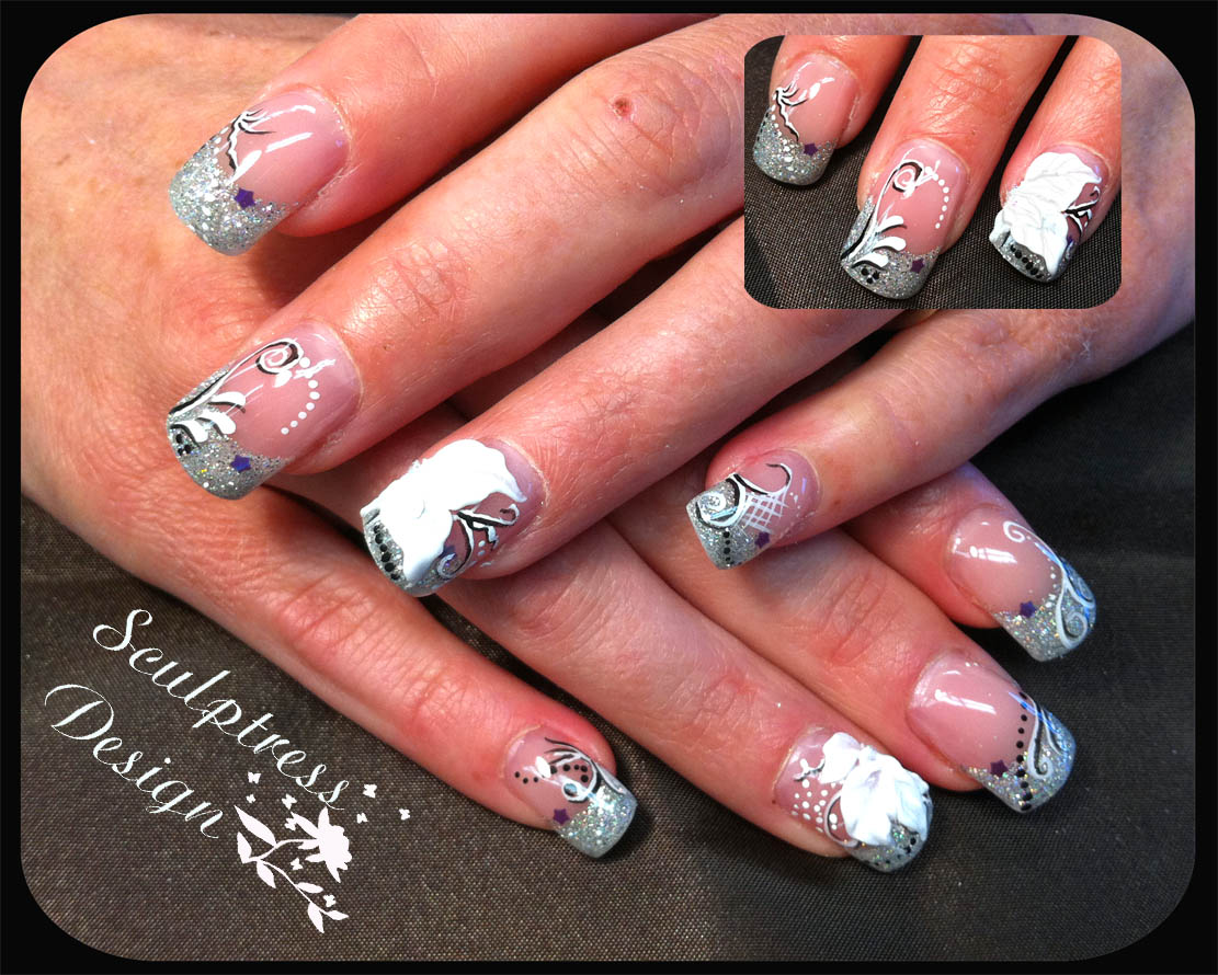 Sculptress Design Nail Studio Some Of The Nail Designs Done In March 2011
