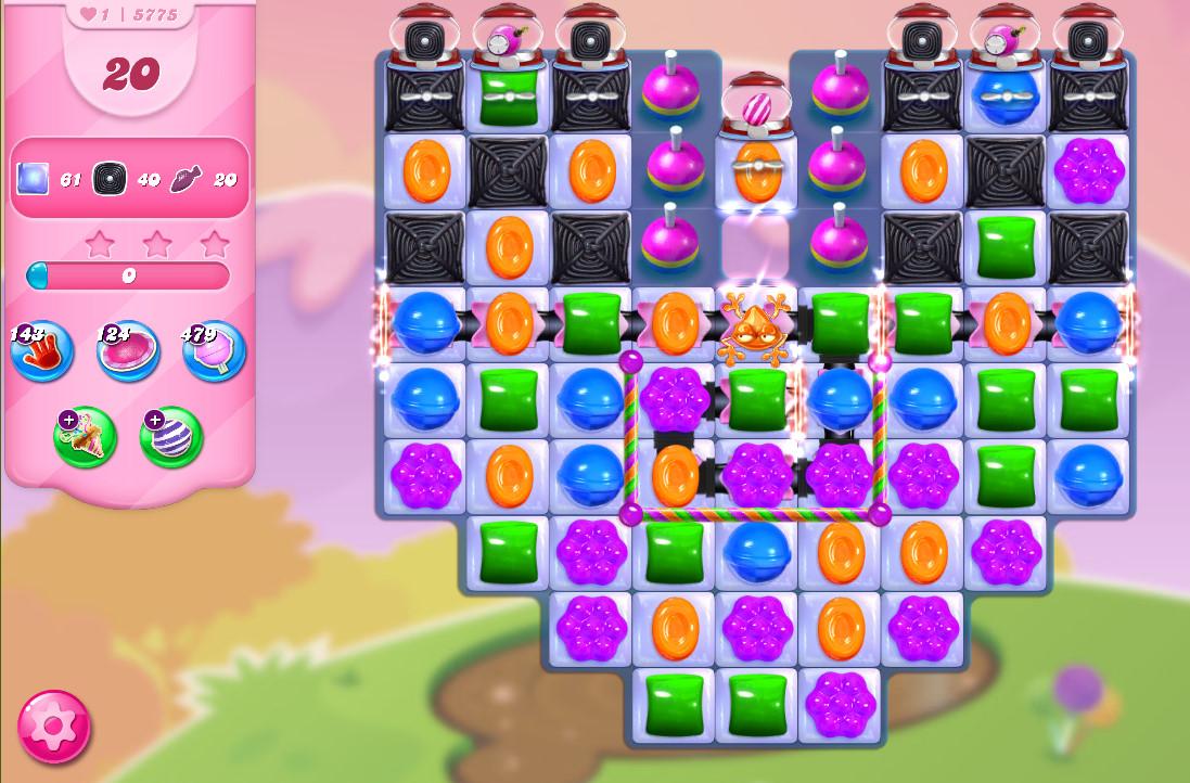 Candy Crush Saga level 5775