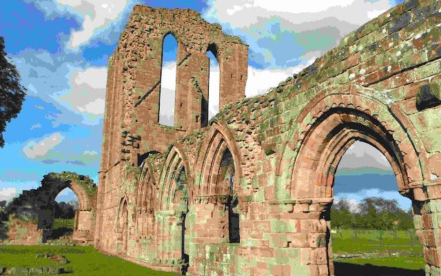 Croxden Abbey ruins