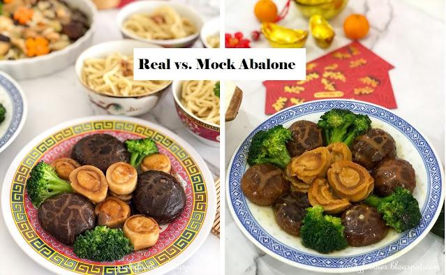 real vs mock vegetarian abalone