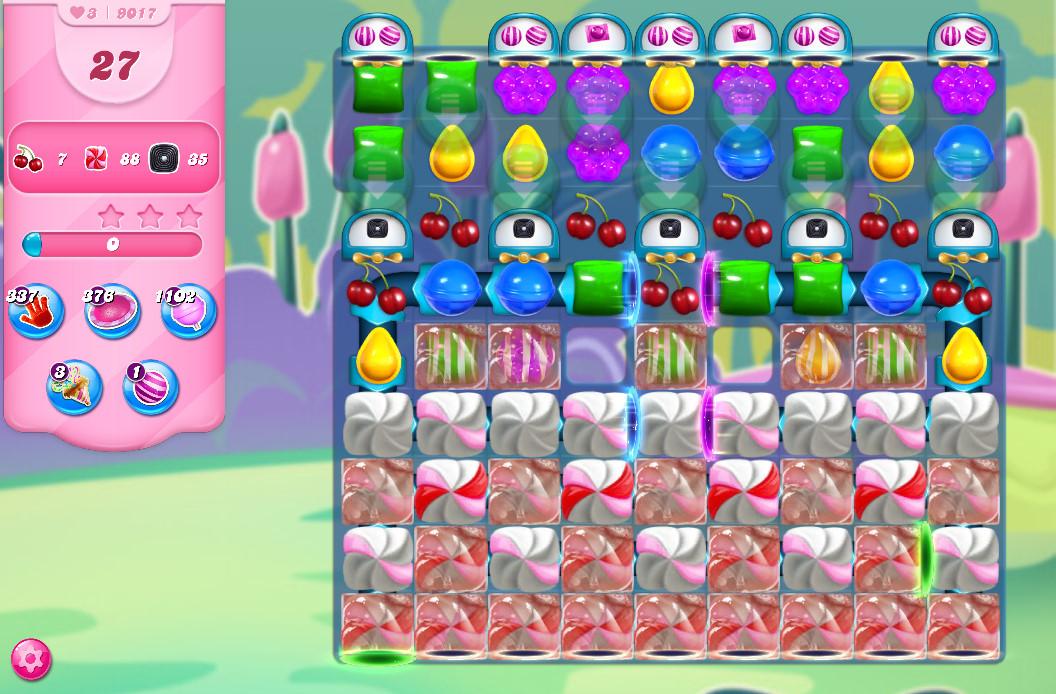 Candy Crush Saga level 9017