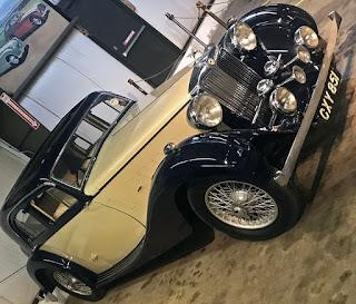 1937 MG VA.