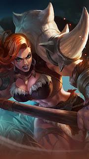 Hilda Power of Megalith Heroes Fighter Tank of Skins V1