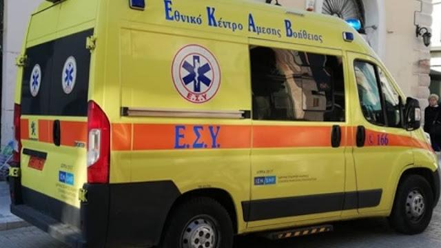Τροχαίο ατύχημα στο λιμάνι του Λουτρακίου με τραυματισμό 54χρονης