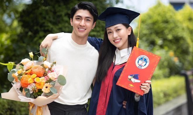 Á hậu Phương Nga tốt nghiệp đại học loại giỏi