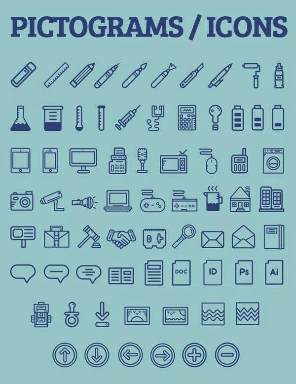 Pictogams Free Icons