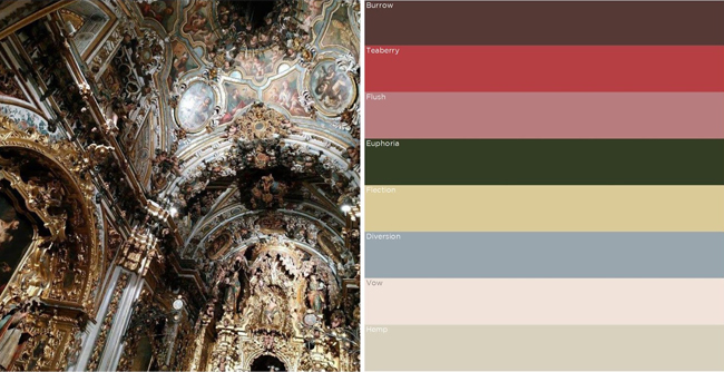 belle noel holiday 2020 color forecast
