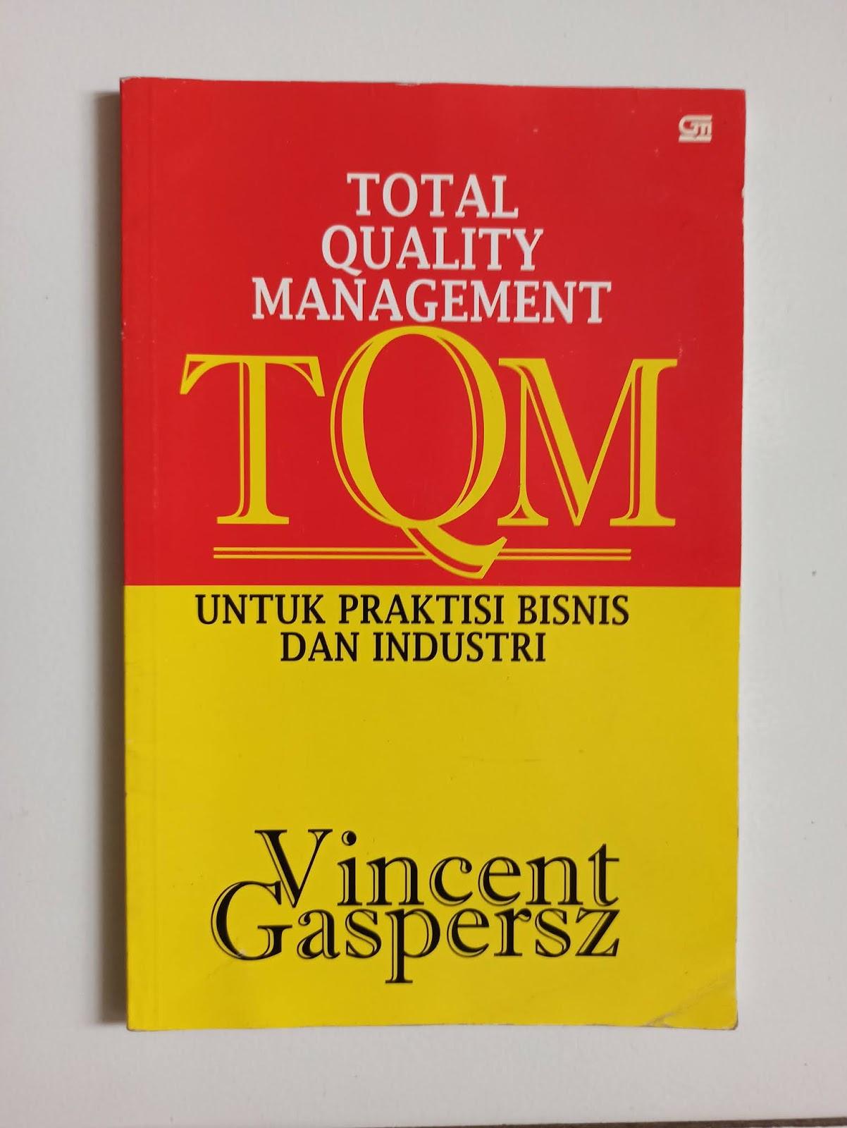 Buku karya Vincent Gaspersz
