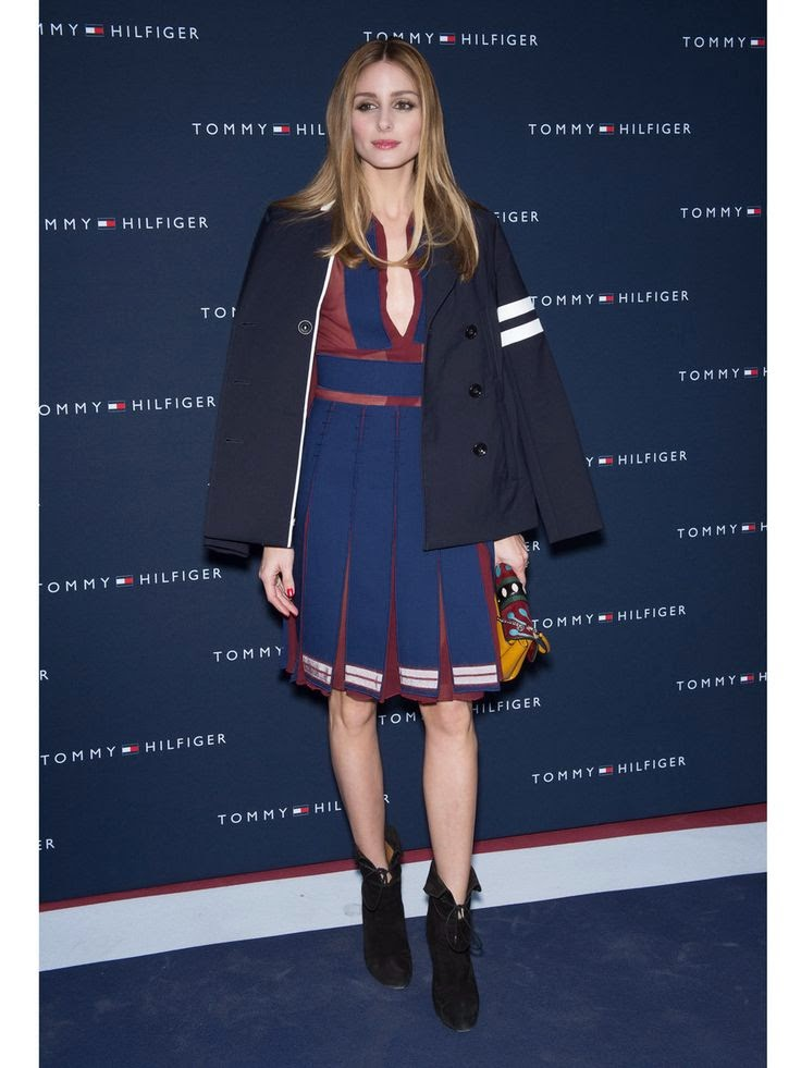 Olivia Palermo At Tommy Hilfiger Store Opening