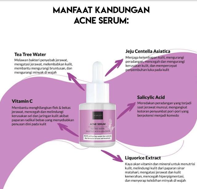 manfaat-kandungan-scarlett-acne-serum