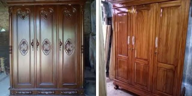 lemari kayu jati