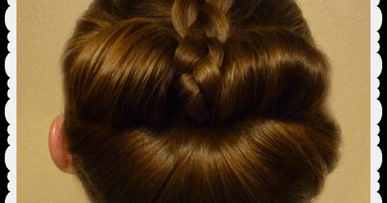 Braided Bow Fan Bun - Easy Messy Bun Tutorial | Hairstyles For Girls - Princess Hairstyles
