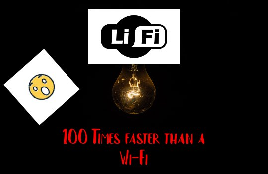 Is LiFi faster than WiFi? LiFi is 100 times faster than WiFi