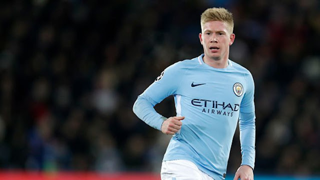 Kevin De Bruyne expressed his intention to leave Manchester City