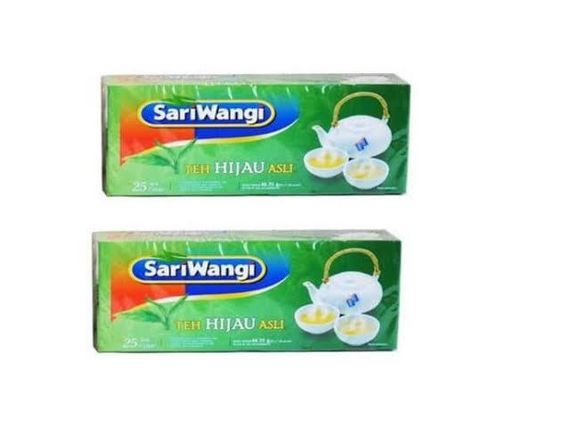 Teh Hijau Sari Wangi Sachet