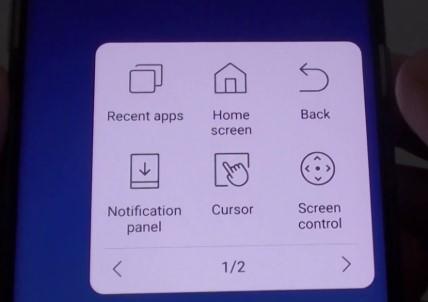 cara screenshot samsung m20  tanpa menekan tombol