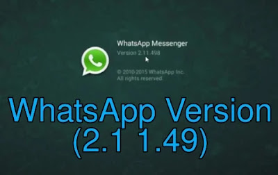 Update your Whatsapp To this version