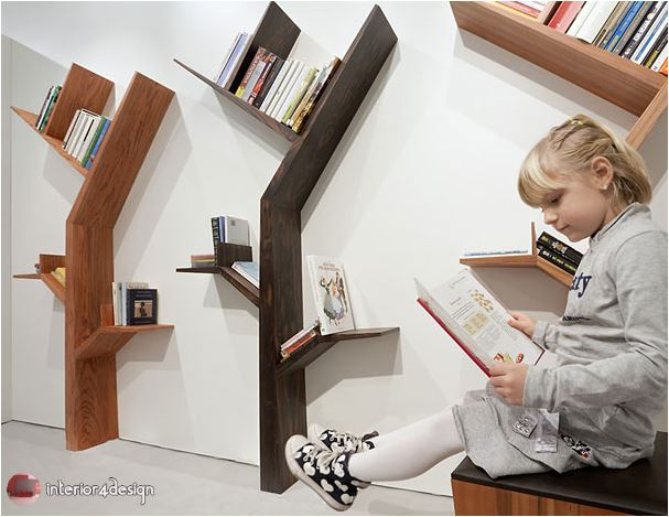 70 Best Bookshelf Designs 16