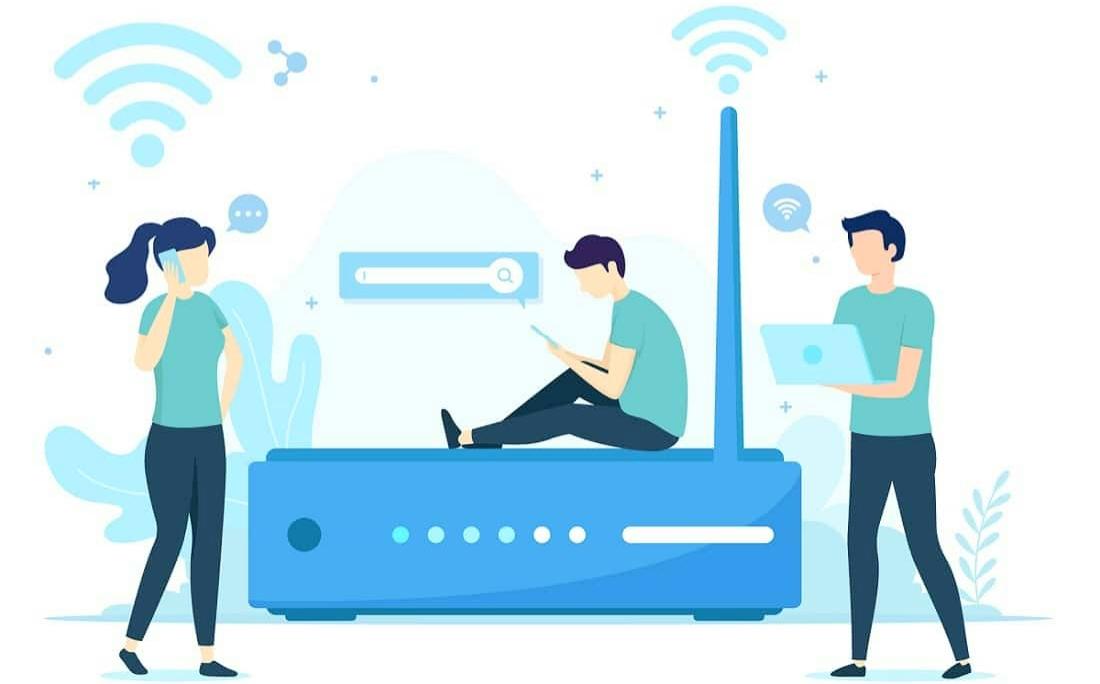 الشبكات اللاسلكية +شبكات منزلية +wifi