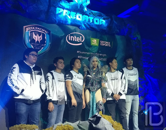 Arkangel Predator League 2020 with Alodia Gosiengfao
