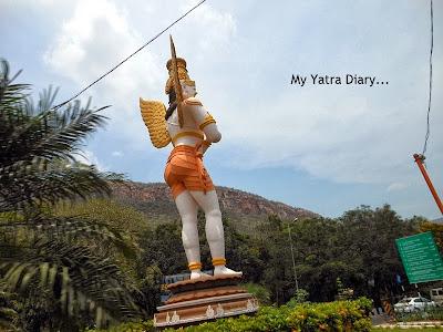 Bus ride to Tirupati Balaji Temple, Andhra Pradesh