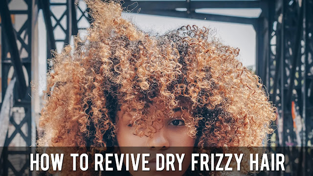 How To Revive Dry Frizzy Hair