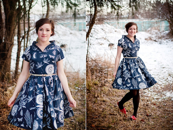 I made a dress #8 and a free pattern