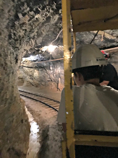 underground mine museum train