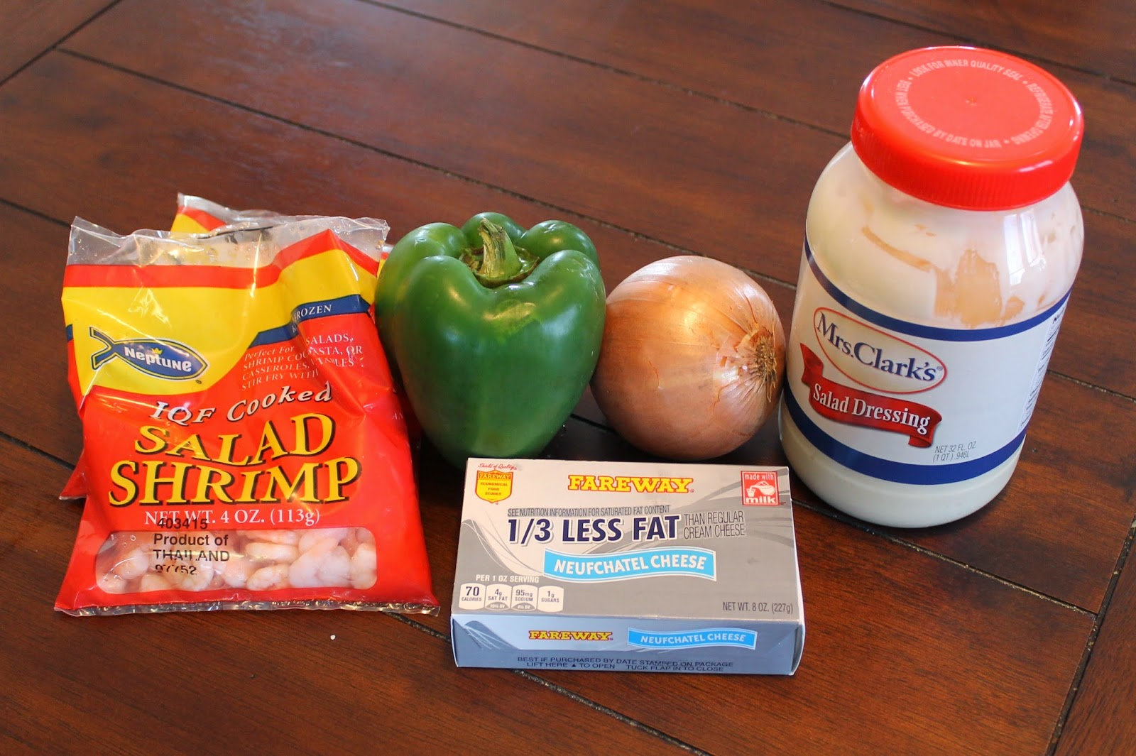Shrimp Dip Ingredients