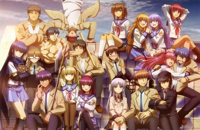 Angel Beats - Top Anime Romance Sad Ending List