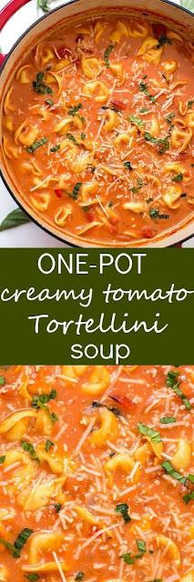 One-Pot Creamy Tomato Tortellíní Soup