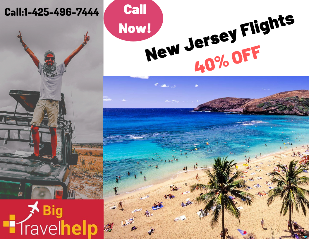 New Jersey Flights Deals- Domesctic Flights
