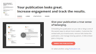 how to embed issuu e-paper / e book to a site by seosir.com