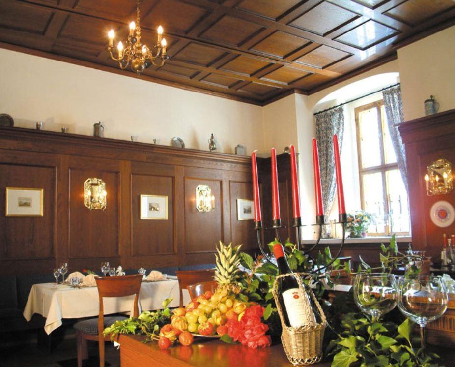 Ресторан Schneider Stube в отеле Romantik Tuchmacher в Гёрлице