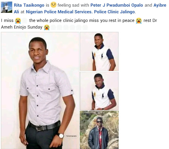 Sad! 33-year-old Medical Doctor died due to Lassa Fever in Taraba state (Pictures)
