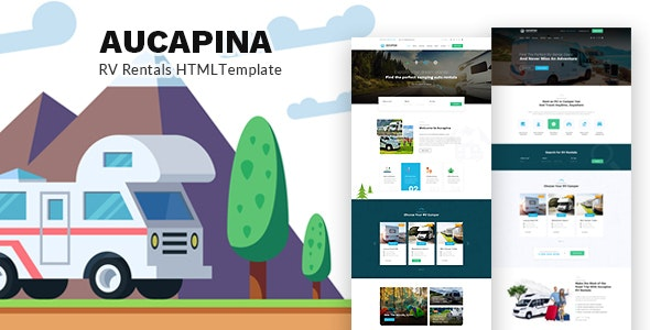 Responsive Camping Auto Home HTML Template