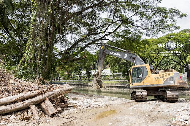 Kuala Lumpur die reinste Baustelle www.WELTREISE.tv
