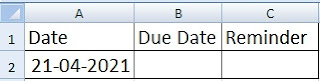 2 Simple Ways to Add Auto Reminder on Due Date in Excel Sheet in Hindi