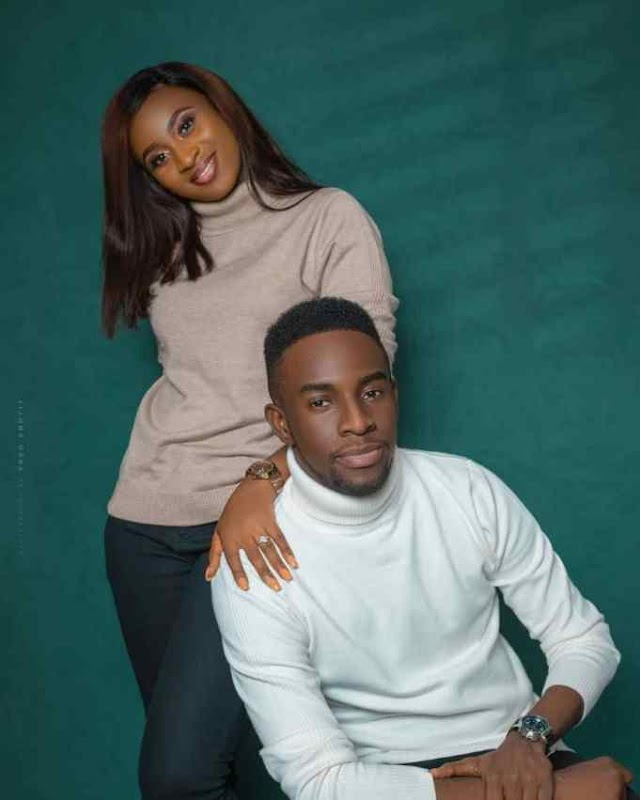 GUC, With His Fiancée, Nene Ntuk Releases Pre-Wedding Pictures