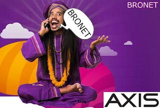 Paket Internet Axis BRONET