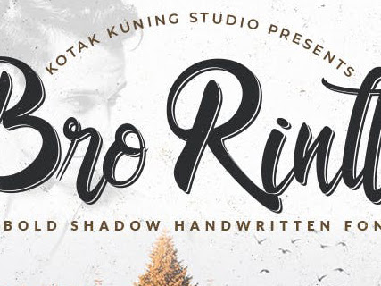 Bro Rintto Bold Shadow Font Free Download