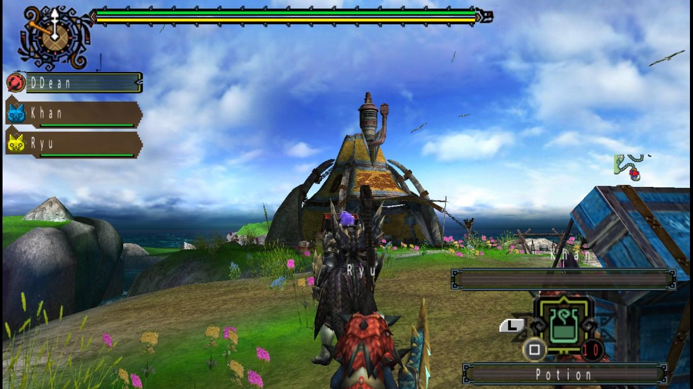 Mod HD Texture Pack Monster Hunter Portable 3rd (MHP3rd)