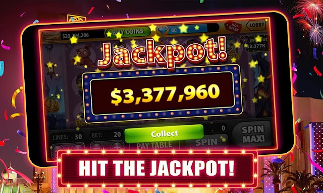 Win $3 mil from slot game machines
