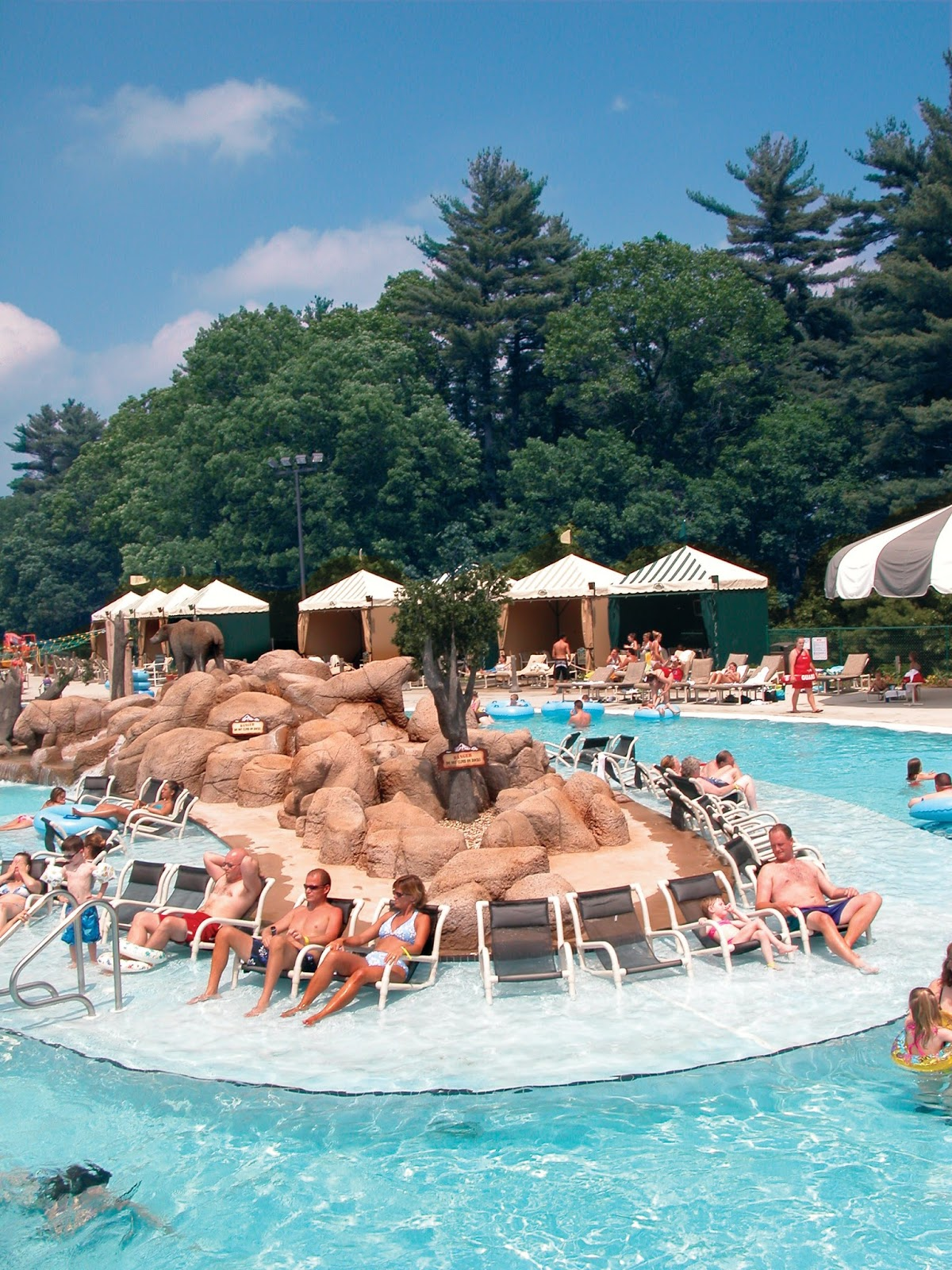 The Wilderness Resort is home to 4 outdoor water parks  Lake Wilderness   New Frontier  Lost World and Cubby s Cove Outdoor  From pools to thrill  slides. Top 5 Reasons To Visit The Wilderness Resort in The Wisconsin Dells