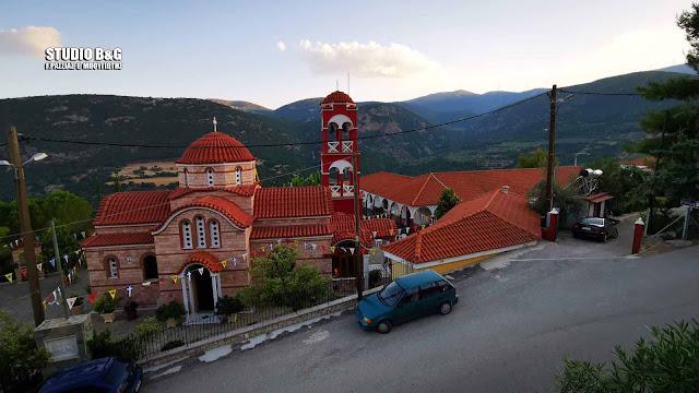 Με αγρυπνία τίμησαν τη μνήμη του Αγίου Ιγνατίου στη Ζόγκα Ελληνικού Άργους
