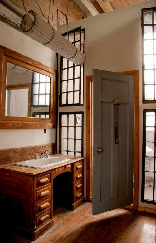 Lilyfield Life Turning vintage furniture into a bathroom