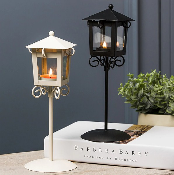 Vintage Backyard Lamp Lamppost Candle Holder