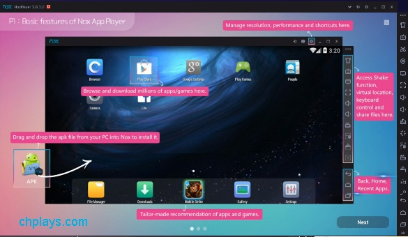 Tải Nox App Player – Phiên bản Nox Player 6 mới nhất về máy tính 2
